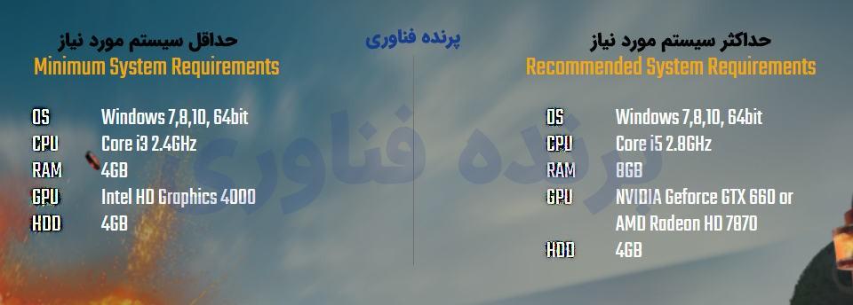 دانلود نسخه رایگان پابجی pubg برای کامپیوتر pc به همراه آموزش نصب و راه اندازی